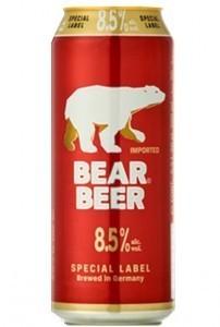 Bear Beer Special Label