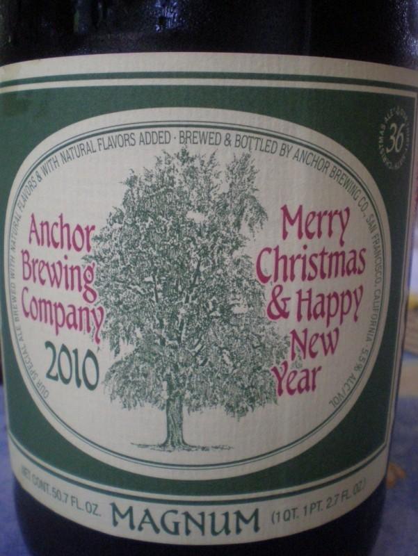 Anchor Christmas Ale 2010
