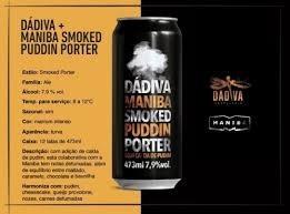 Dádiva Maniba Smoked Puddin Porter