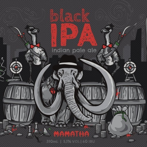 Mamatha Black IPA