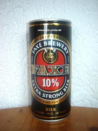 Faxe Extra Strong Beer