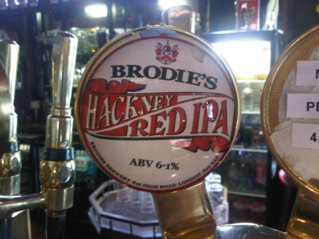 Brodie's Hackney Red IPA