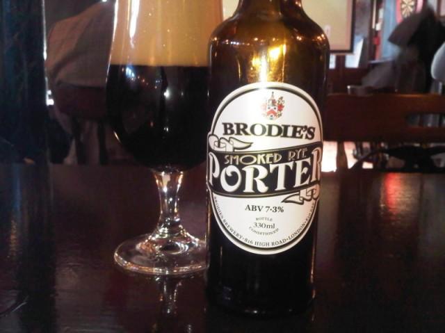 Brodie's Smoked Rye Porter